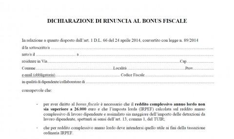 Studiovilardi easyblog modello dichiarazione di for Bonus fiscale